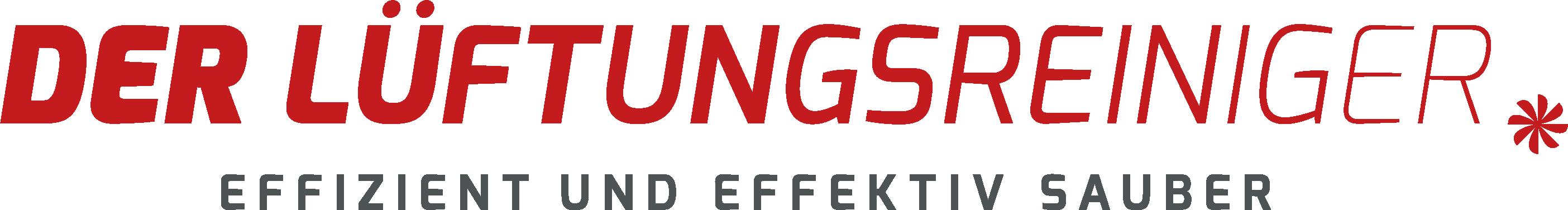 Der Lüftungsreiniger: Logo Rot